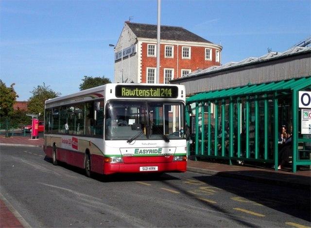 Blackburn bus station