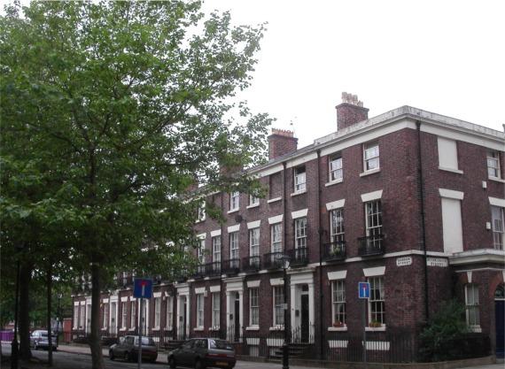 Corner of Sandon Street and Huskisson Street