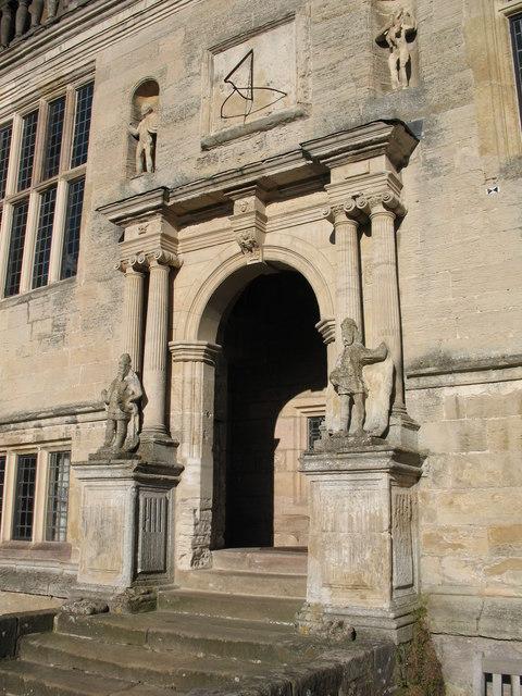 Main doorway, Fountains Hall