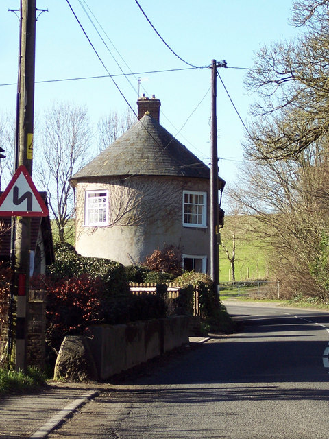 Round ended house in Chitterne