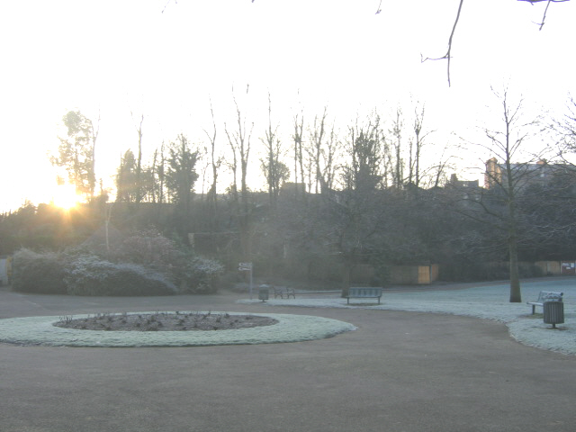 Frosty morning in Maryon Park