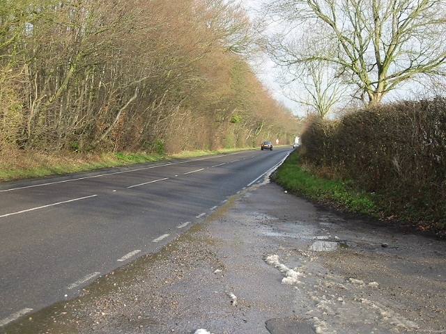 A257 looking E towards Littlebourne