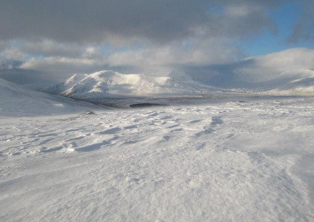 West from Geal Charn