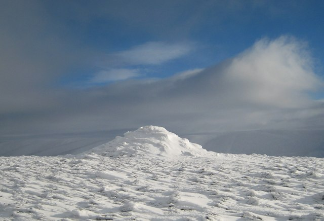 Summit of Geal Charn.