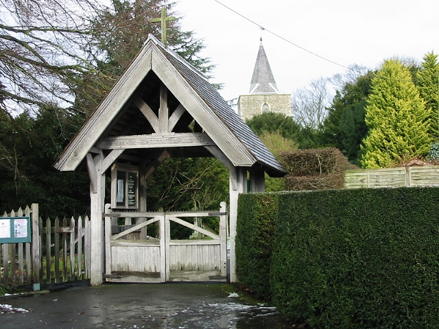Littlebourne Church Lych Gate