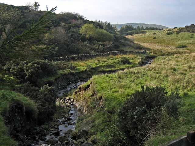 Stream below Pinbraid Loch