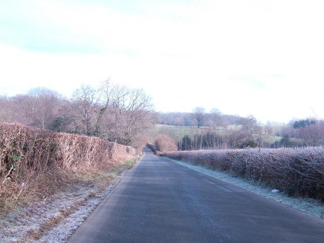 Mayfield to Tunbridge Wells road