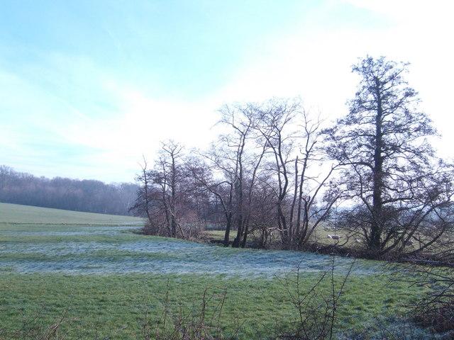 View east at Scotsford Bridge