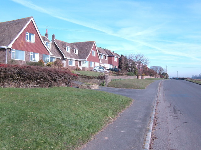 Houses on Halley Road, Broad Oak