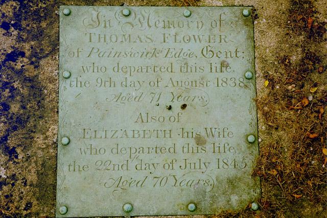 Grave, Horsley Churchyard