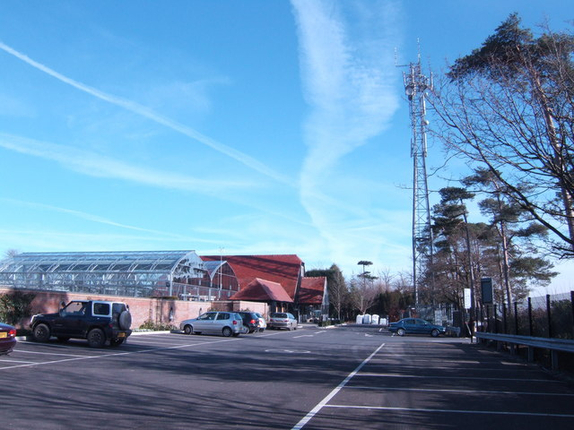 Garden Centre and Communications Mast
