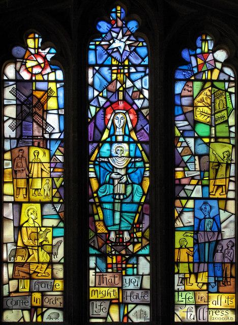 All Saints, Brill, Bucks - Window