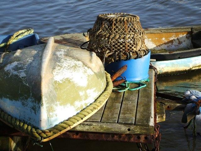 Fishing Equipment at Keyhaven