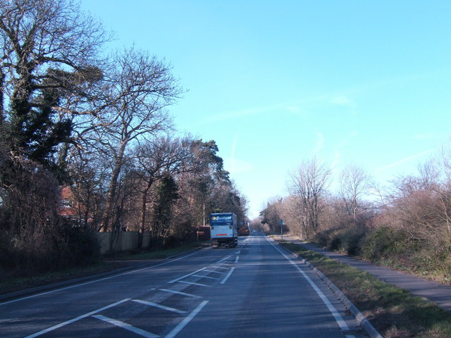 A21 north towards London