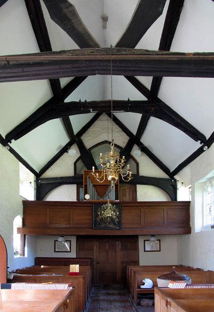 St Nicholas, Chearsley, Bucks - West end