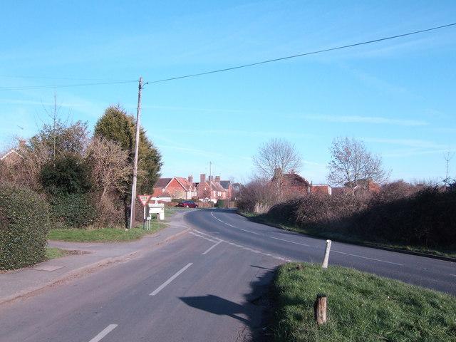 A265 at Burgh Hill