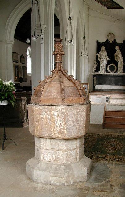 St Peter, Babraham, Cambridgeshire - Font