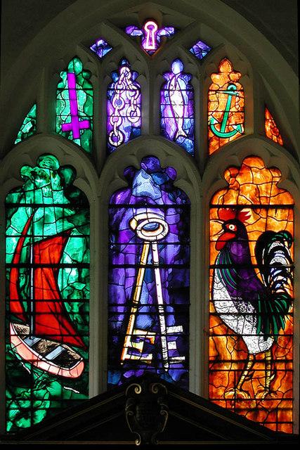 St Peter, Babraham, Cambridgeshire - East window