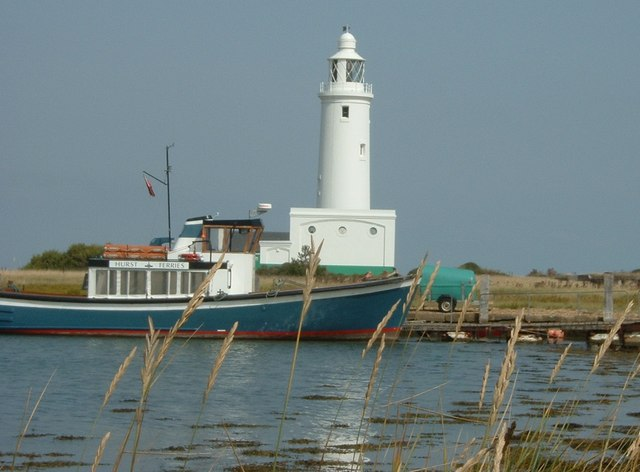 Hurst Point Ferry and Lighthouse