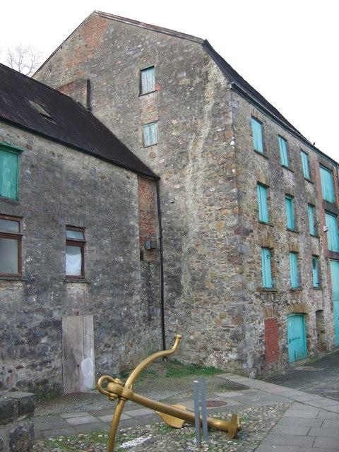 Old warehouse, Hwllfordd/Haverfordwest