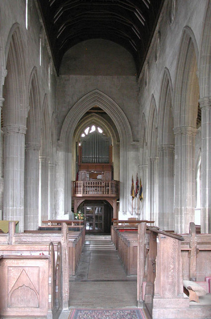 St Mary & St Michael, Trumpington, Cambridgeshire - West end