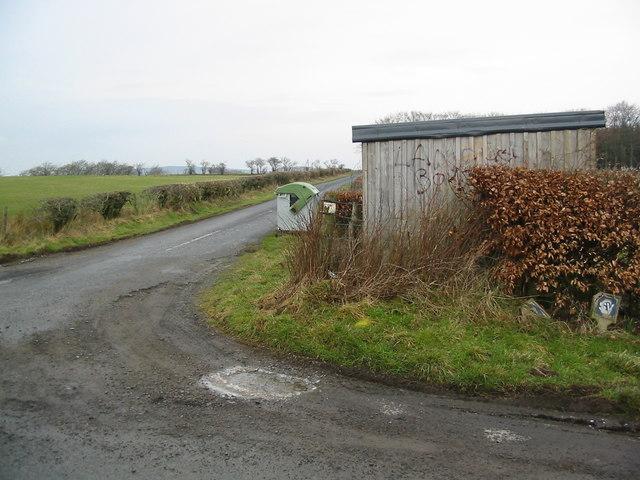Albierig road end