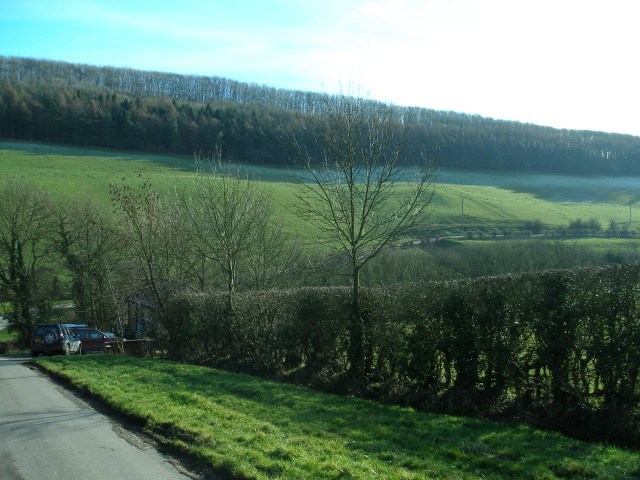 View from road just south of Millington