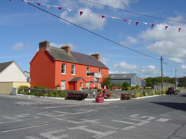 The crossroads at Causeway