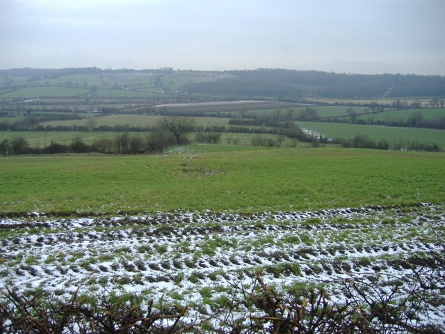 View towards Catcomb Wood