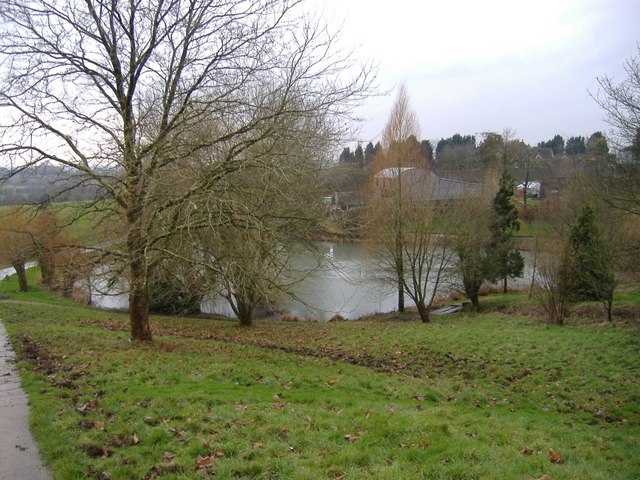 Pond at Bremhill House