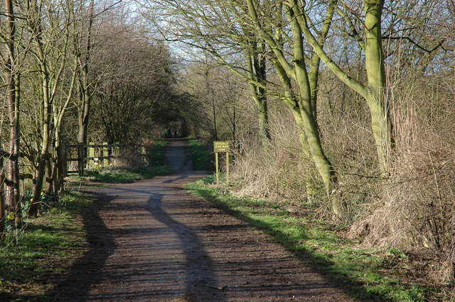 Disused Railway Line Walk next to Headstocks