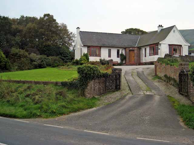Bungalow near Dailly in the Girvan valley