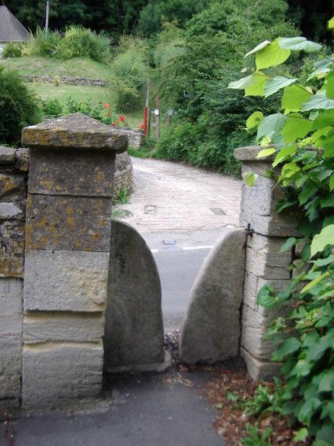 Stone stile, Randwick church