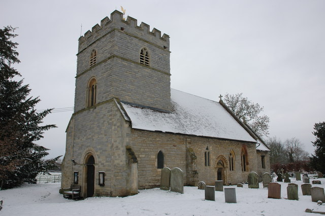 Earl's Croome church