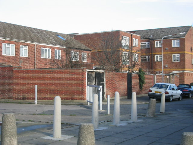 Modern housing unaffected by the Olympic development
