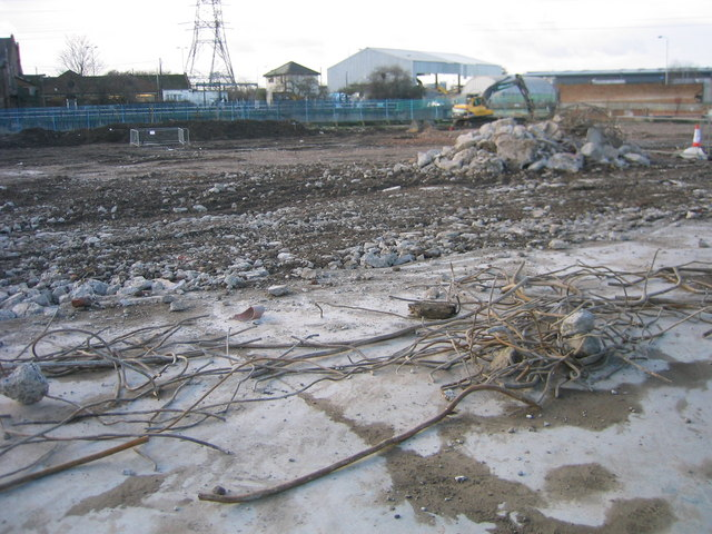 Clearing for the Olympic Aquatic Centre