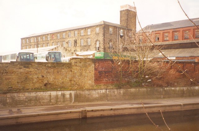 Factory on the site of ASDA, Dewsbury (2nd view)