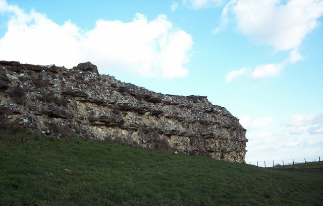 Roman Wall at Calleva Aberatum