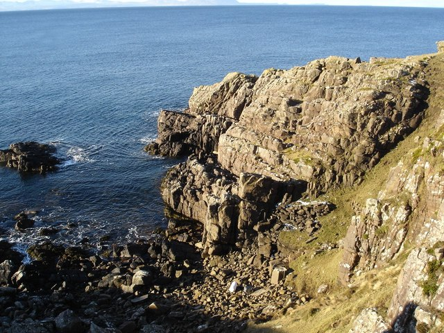 Cliff at Rubha Bàn