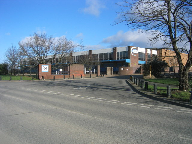 A major business in the way of the Olympic Main arena area, off Marshgate Lane