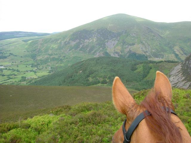 Cwm Du on Horseback