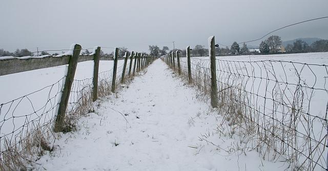 Footpath to Castlemorton Common
