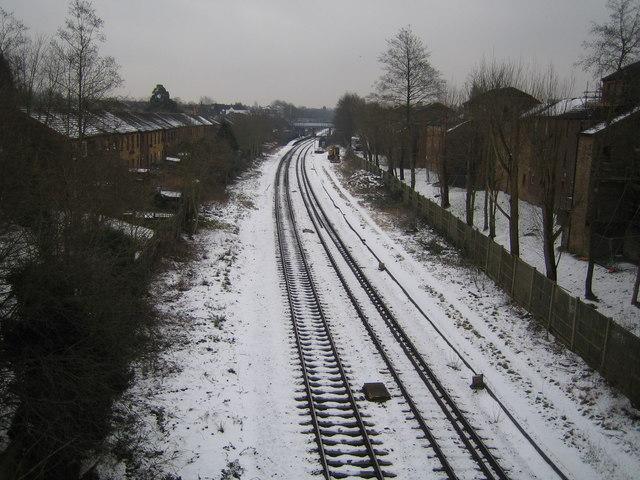 Sudbury Hill: Marylebone to High Wycombe railway