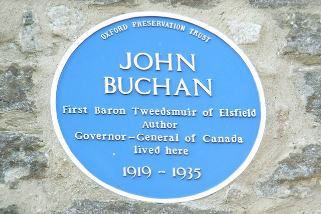 Blue plaque for John Buchan