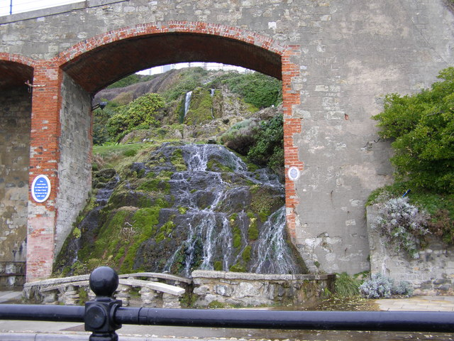 The cascade at Ventnor