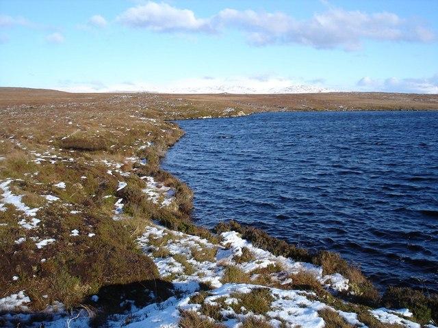 Northern end of Loch an t-Seana-bhaile