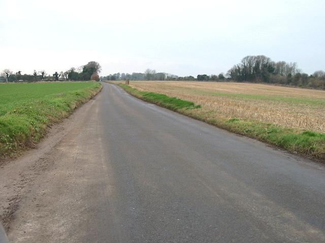 Looking SW along East Langdon Road