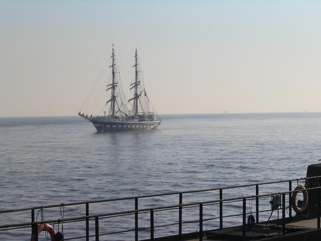 Prince William returns to the Mersey