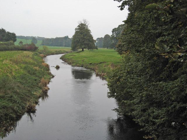 Water of Girvan from Aird  Bridge
