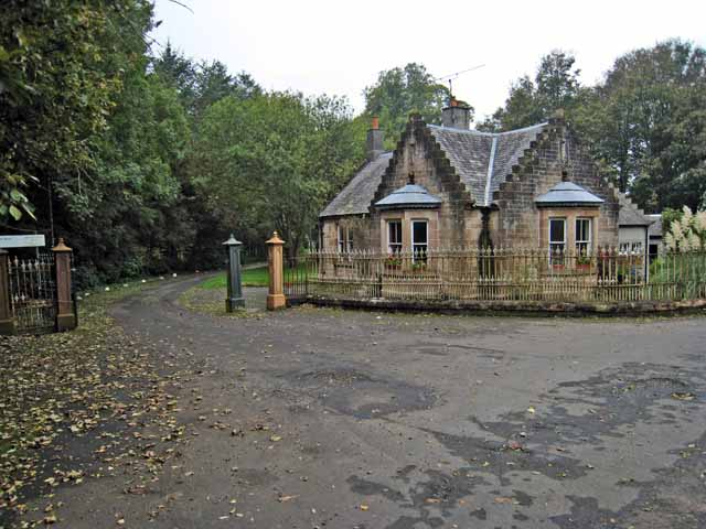 Lodge to Kirkmichael House